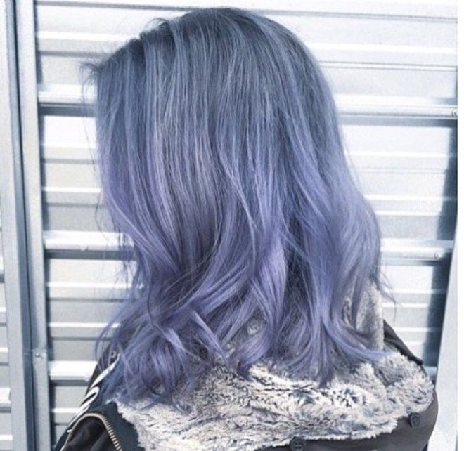If you're looking for a brand new hair look, you could do a lot worse than these powdery blue beauties! Check out the latest denim hair looks to 'dye' for!