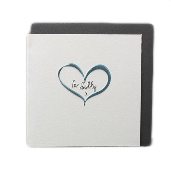 For Daddy - Card  #fathersdaygifts #giftsformen #giftsfordads