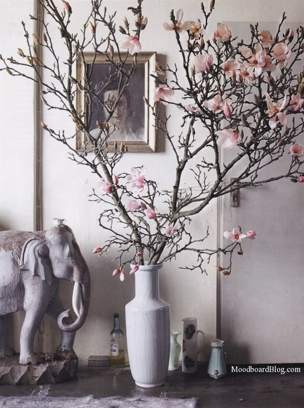 Definitely want branches in my next pace @ELLE Magazine (US) Decor