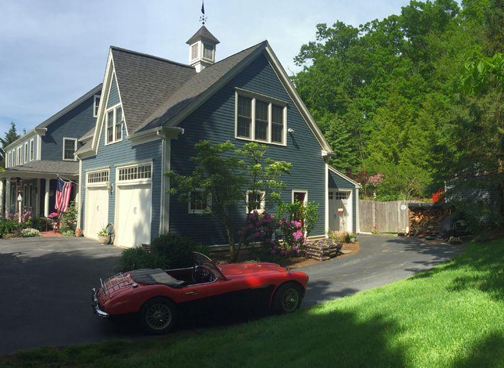 Custom Garage Doors on three car garage in Marshfield MA. & 35 best Boston Area Garage Door Ideas images on Pinterest | Boston ...