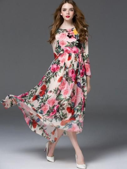 Now available on our store: Pleated Floral Sp... Check it out here! http://ulrichapparel.com/products/pleated-floral-spring-maxi-dress?utm_campaign=social_autopilot&utm_source=pin&utm_medium=pin