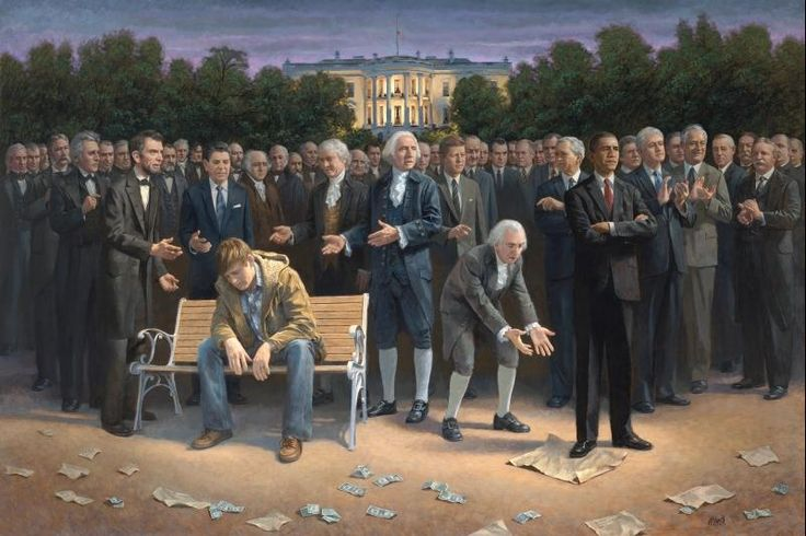 """Wow – Sean Hannity Purchases Original """"The Forgotten Man"""" as Gift For President Elect Donald Trump…   The Last Refuge"""