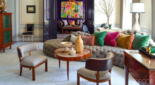 It's that sofa again....fabulous sofa! Steven Gambrel Living Room