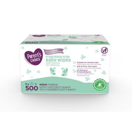 Free 2-day shipping on qualified orders over $35. Buy Parent's Choice Fragrance Free Baby Wipes, 800 count (8 packs of 100) at Walmart.com
