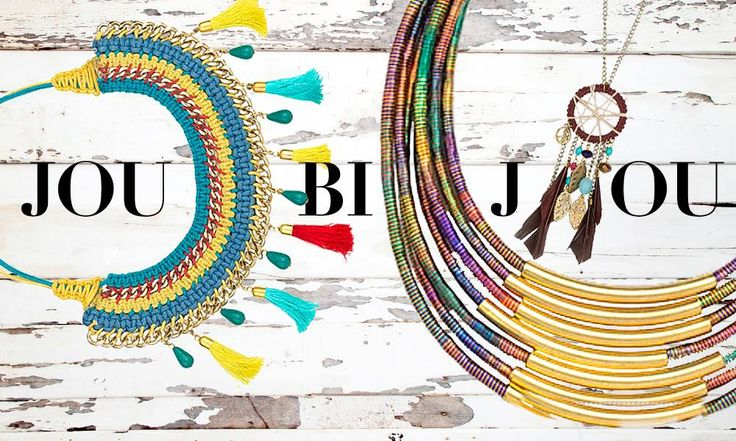NOT YOUR TYPICAL NECKLACE…  Color your summer looks by wearing bijoux that will take you straight to Latin America!