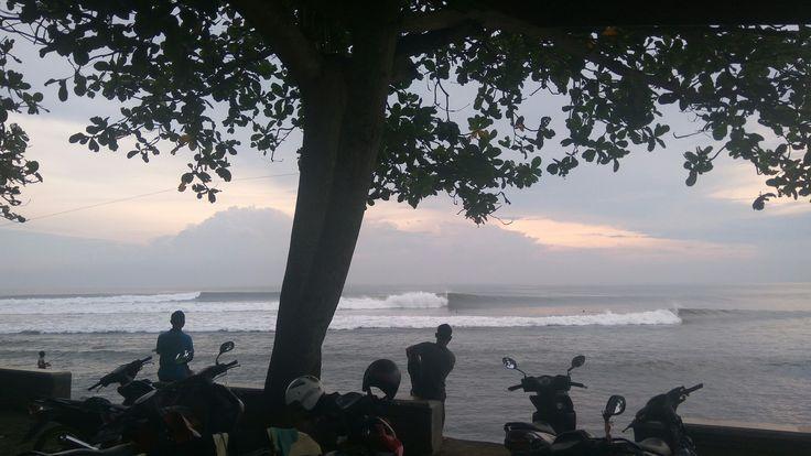 Sunset surfing 👍