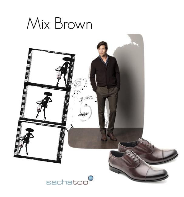Mix Brown. Nada como el color clasico del invierno, el marrón, pero con un toque diferente. No te conformes con llevar los tonos de siempre. @sachalodon te propone el modelo de sachatoo M-SD0001