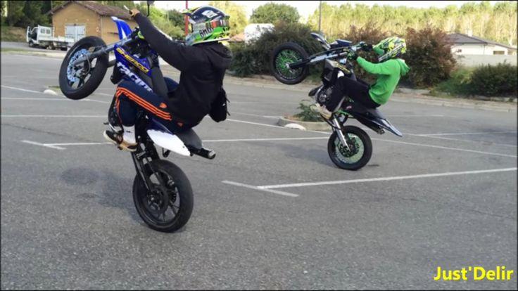 Youtube : Just'Delir   Moto 50cc sherco drd pro