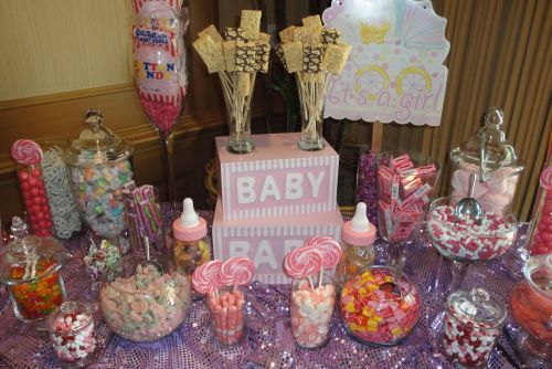 Baby Shower Ideas for Girls On a Budget | Baby Shower Candy3