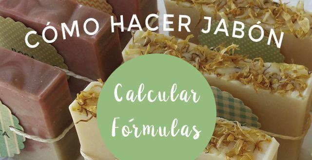 """Tutorial para aprender a calcular una fórmula de jabón artesano. Aprende a formular """"a mano"""" sin necesidad de usar una calculadora de saponificación."""