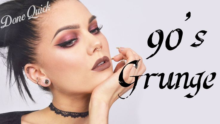 Done Quick: How to do a 90´s inspired grunge look   Linda Hallberg Tutorial
