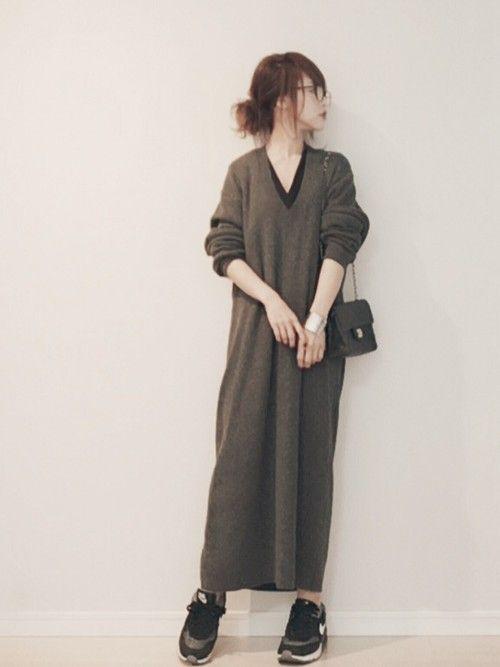 DHOLICのワンピースを使った田中亜希子のコーディネートです。WEARはモデル・俳優・ショップスタッフなどの着こなしをチェックできるファッションコーディネートサイトです。