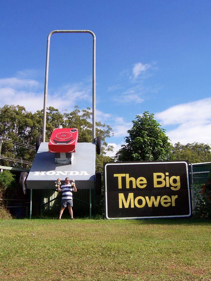 "The ""Big Mower"" in Beerwah, Queensland"