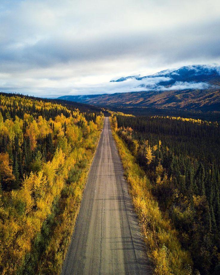 The Dempster Highway (Yukon) by Blaze (@nowarabx) on Instagram cr.c.