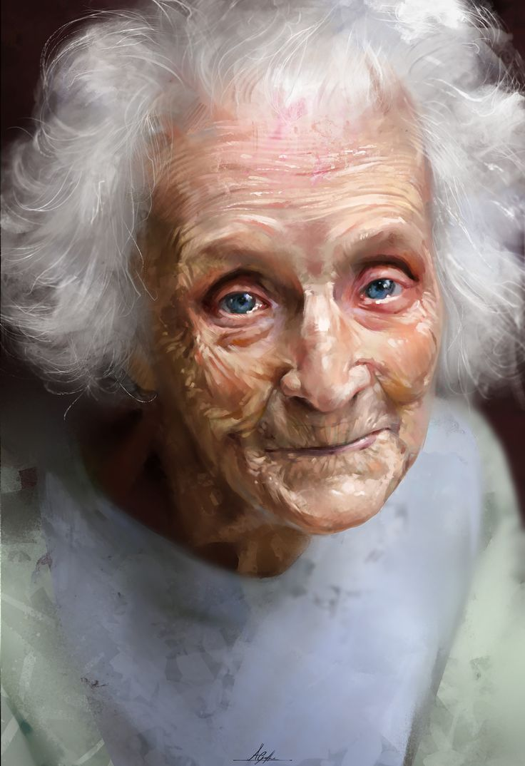 Portrait Study of an Older Woman, Aaron Griffin