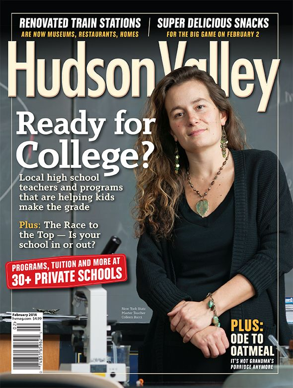 The February 2014 issue is here! Read about the Valley's top high school programs, where to ski locally, renovated train stations, and delicious Super Bowl recipes:  http://www.hvmag.com/Hudson-Valley-Magazine/February-2014/  On the cover: FDR High School science professor Colleen Bucci, a New York State Master Teacher. Photograph by Jennifer May Photography