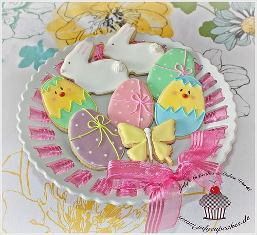 Easter Cookies by Julycupcakes, via Flickr