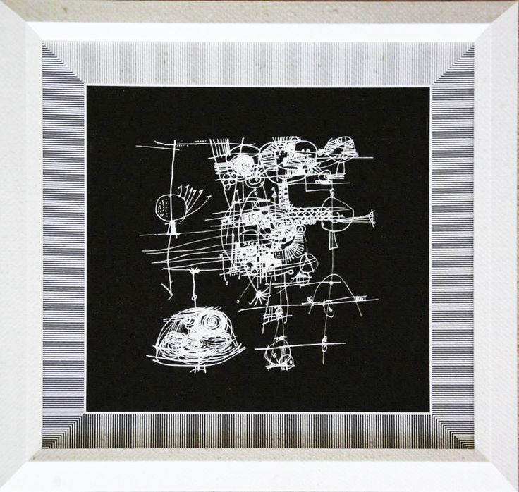 Cuadro Código Ch02-2 46 x 46 cm $8.000