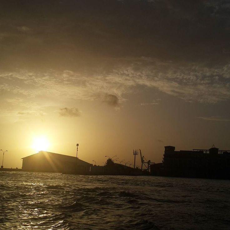 Oranjestad Renaissance Marina Aruba Sunset Onehappyisland