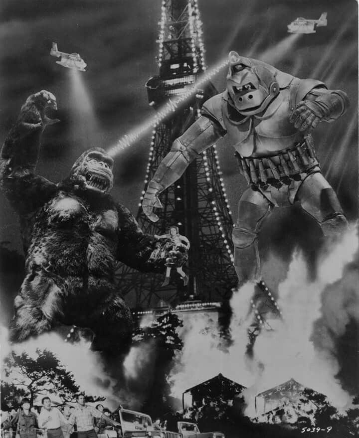 Vintage Sci Fi Horror Movie Poster Godzilla 1965 Invasion: 17 Best Images About Gojira On Pinterest