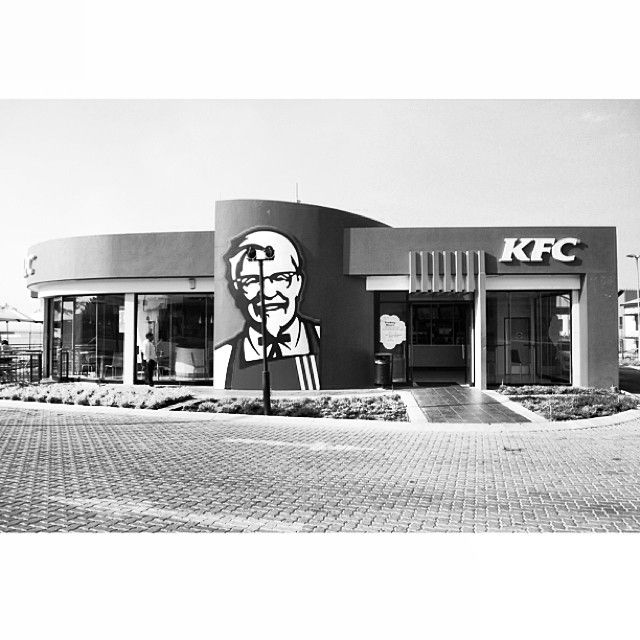 An old design of a KFC Store in Greenstone