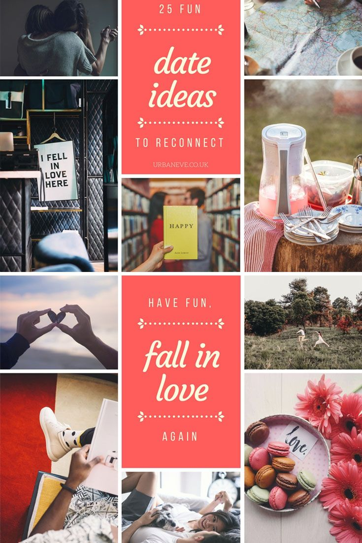 25 fun date ideas to reconnect & deepen your relationship. Spending quality time with the person you love is essential to keep any relationship going in the long term. These date ideas will help you reconnect.