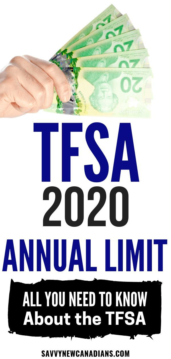 What S The Tfsa Contribution Limit For 2020 All You Need To Know