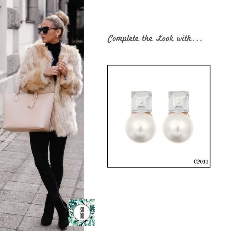 Ref: CP011 Medidas: 1.7 cm x 1 cm So Oh: 5.99  #sooh_store #onlinestore #style #inspiration #styleinspiration #brincos #earrings #fashion #shoponline #aw2016 #aw1617 #winterstyle