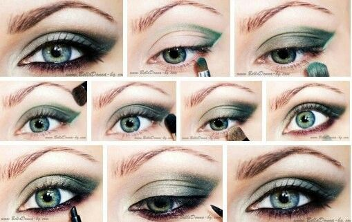 Secrets of beautiful make-up.