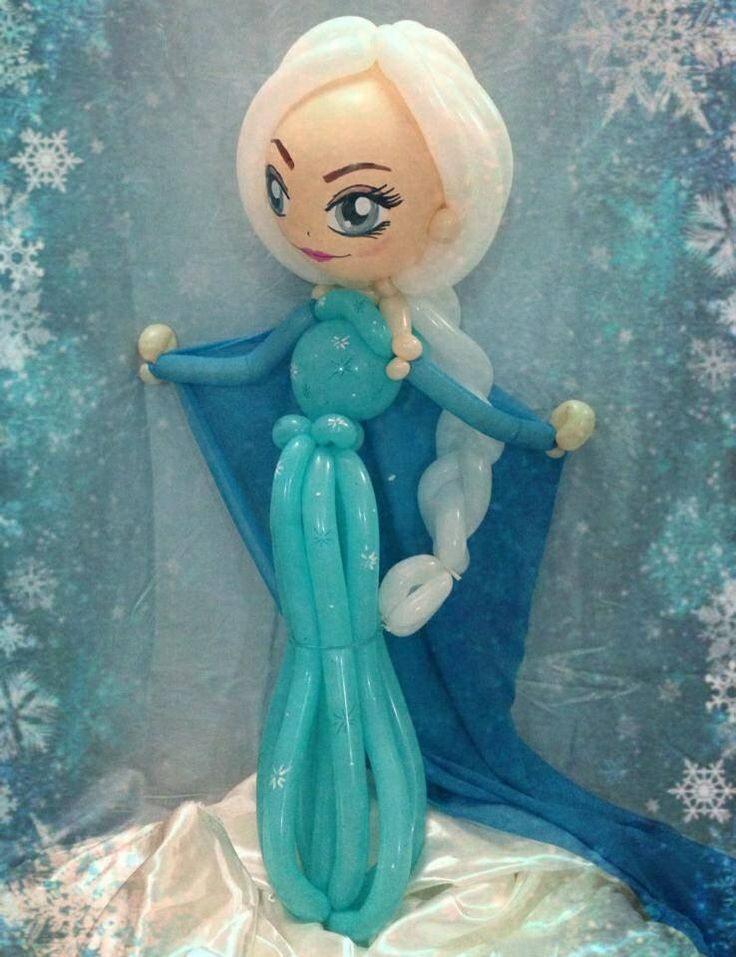 500 best images about balloon creations on pinterest for Frozen balloon ideas