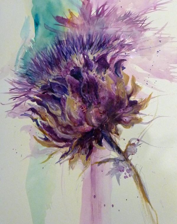 47 best Artischocke images on Pinterest Artichokes, Botanical