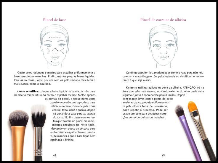 Maquilhagem- a maneira correta de usar pincéis - Caçando borboletas