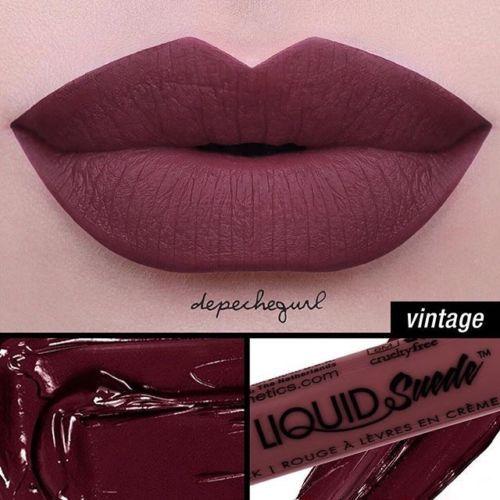 NYX-Liquid-Suede-Cream-Lipstick-VINTAGE-LSCL12-Plum-Mauve-New-Sealed-Authentic