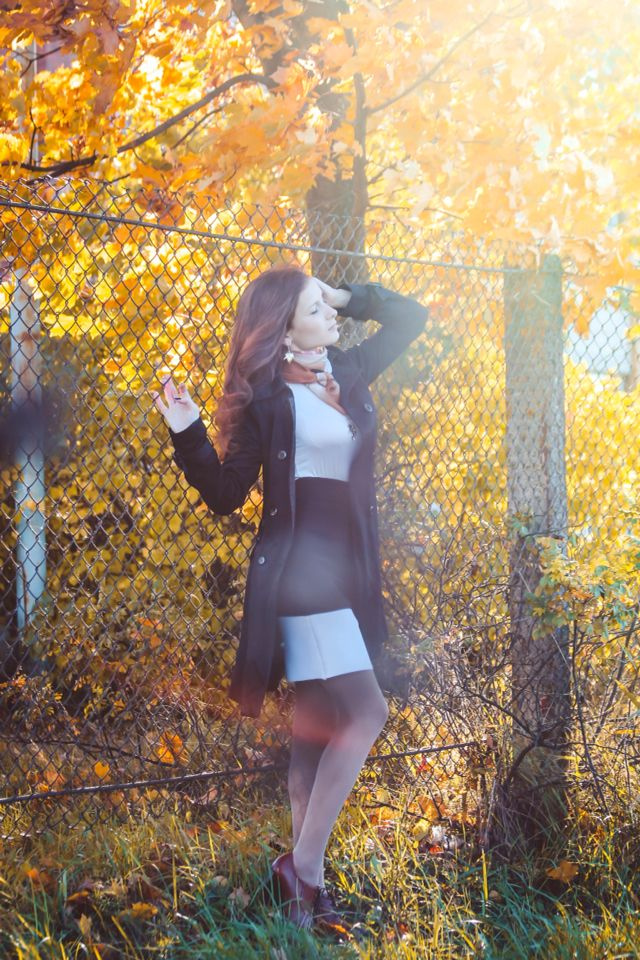 #осень#девушка#фотосессия#позы