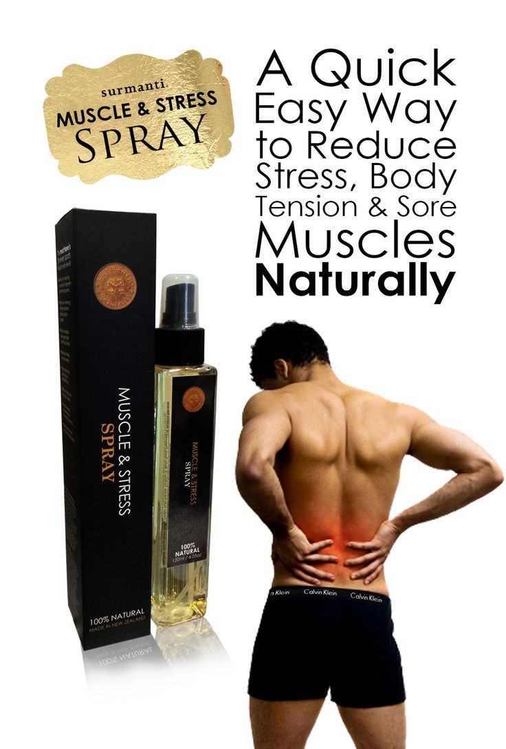 A quick, easy way to reduce STRESS, BODY TENSION and SORE MUSCLES naturally.