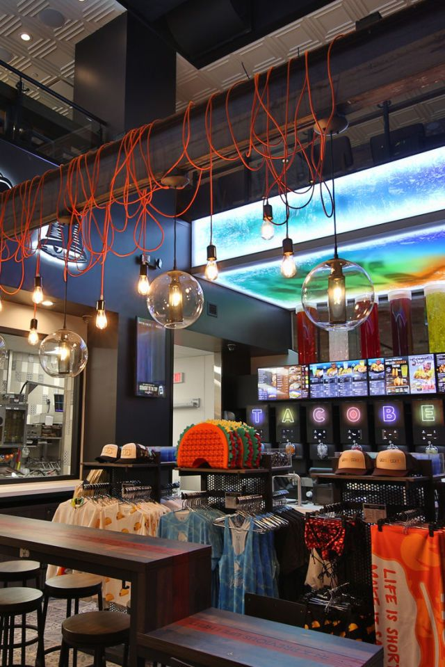 Taco Bell Opens Its Most Tricked Out Location Ever In Las Vegas