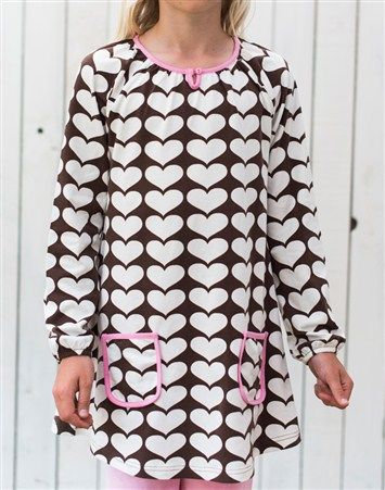 Me&i lovely hearts tunic, koko 110/116 cm.