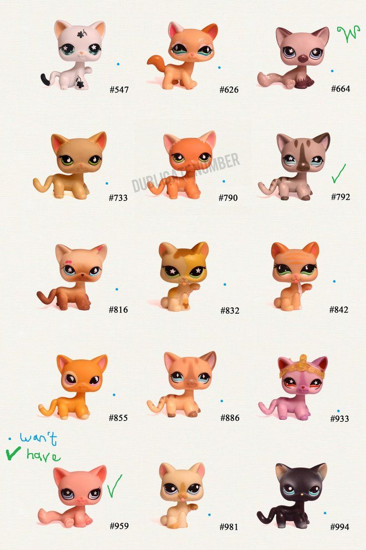 Littlest Pet Shop Cats And Dogs