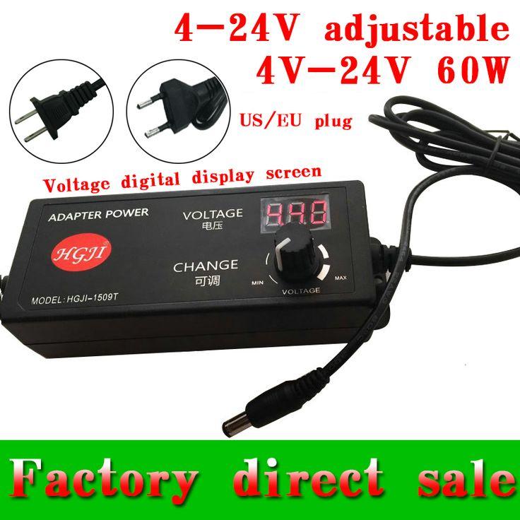 $13.90 (Buy here: https://alitems.com/g/1e8d114494ebda23ff8b16525dc3e8/?i=5&ulp=https%3A%2F%2Fwww.aliexpress.com%2Fitem%2FAC110V-220V-to-4-4V-24V-adjustable-power-for-19v2ah-etc-lithium-battery-DC-motor-speed%2F32739902913.html ) AC110V//220V toDC4.4V-24V adjustable power for  lithium battery , DC motor speed power DC4V-24V 60W  adjustable adapter for just $13.90