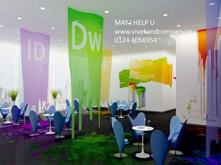 Plug N Play Office For Rent On Golf Course Road Gurgaon By 1244056954 Via Slideshare Colorful Interior DesignOffice