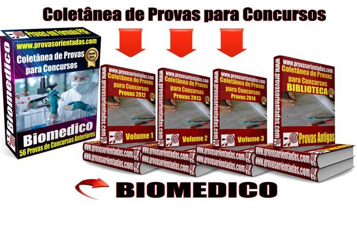 Coletânea Provas para Concursos - Biomédico