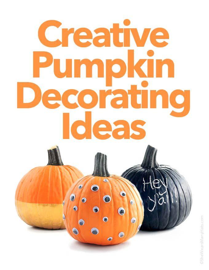 1000 Ideas About Pumpkin Decorations On Pinterest