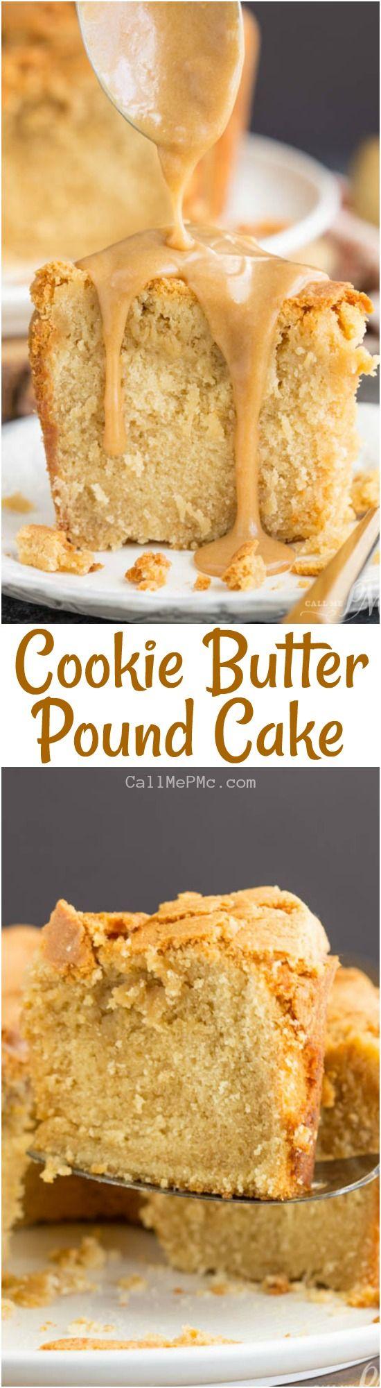 Cookie Butter Pound Cake https://www.callmepmc.com/cookie-butter-pound-cake/?utm_campaign=coschedule&utm_source=pinterest&utm_medium=Paula%20%7C%20CallMePMc.com&utm_content=Cookie%20Butter%20Pound%20Cake