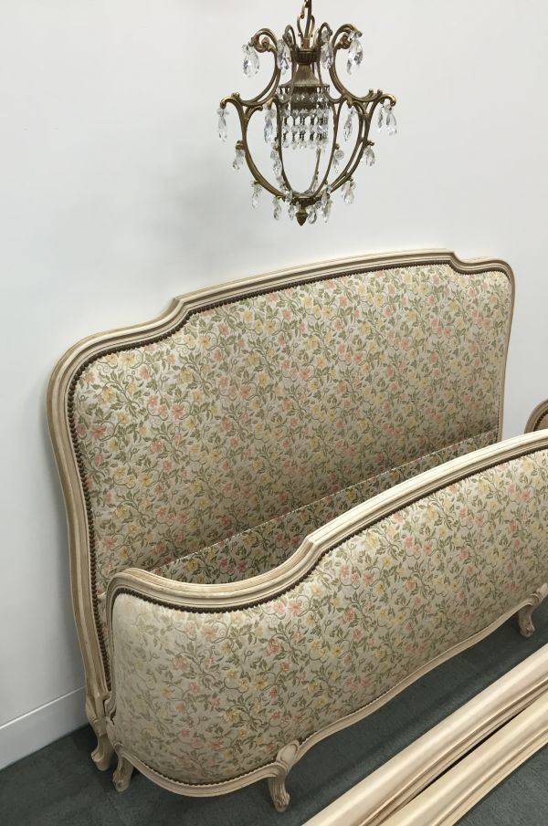 This superb double corbeille bed was found recently in France. They is in beautiful condition. Just add slats and a mattress. Beautiful for a French styled bedroom.   eBay!