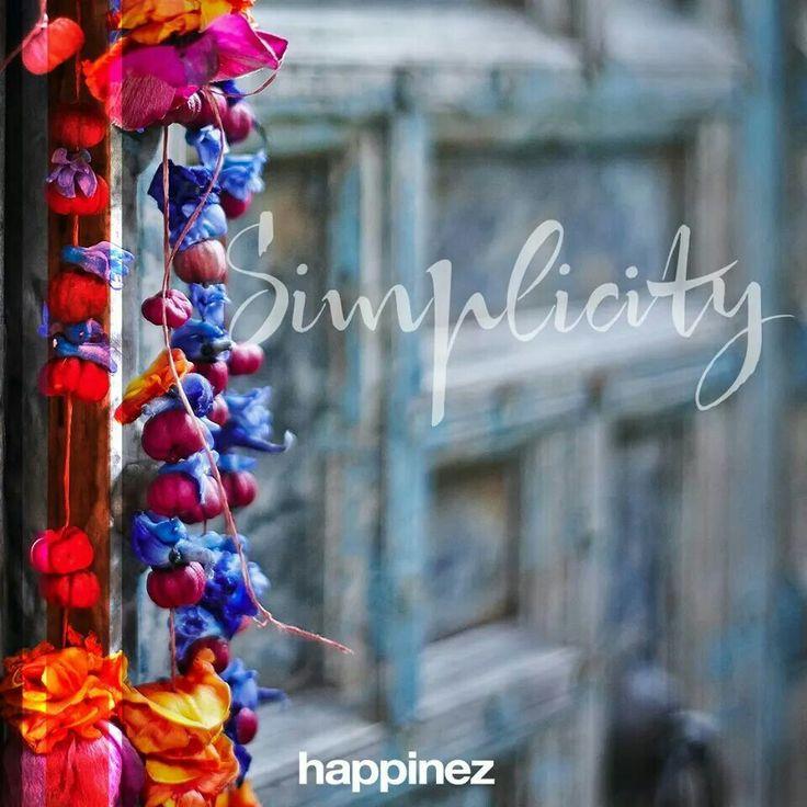 Happinez | Simplicity