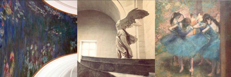 orangerie louvre dorsay museums