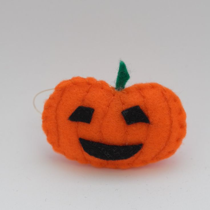 Nice pumpkin - halloween ornament, fall pumpkin, pumpkin decors, orange decorations, pumpkin ornament - by HalloweenOrChristmas on Etsy