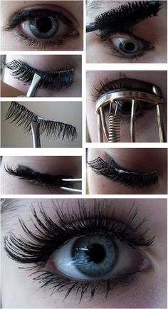 The easy way to apply fake lashes. You'll regret not re-pinning this.http://blog-allthingsbeautiful.blogspot.co.uk/2012/02/how-to-apply-false-lashes.html