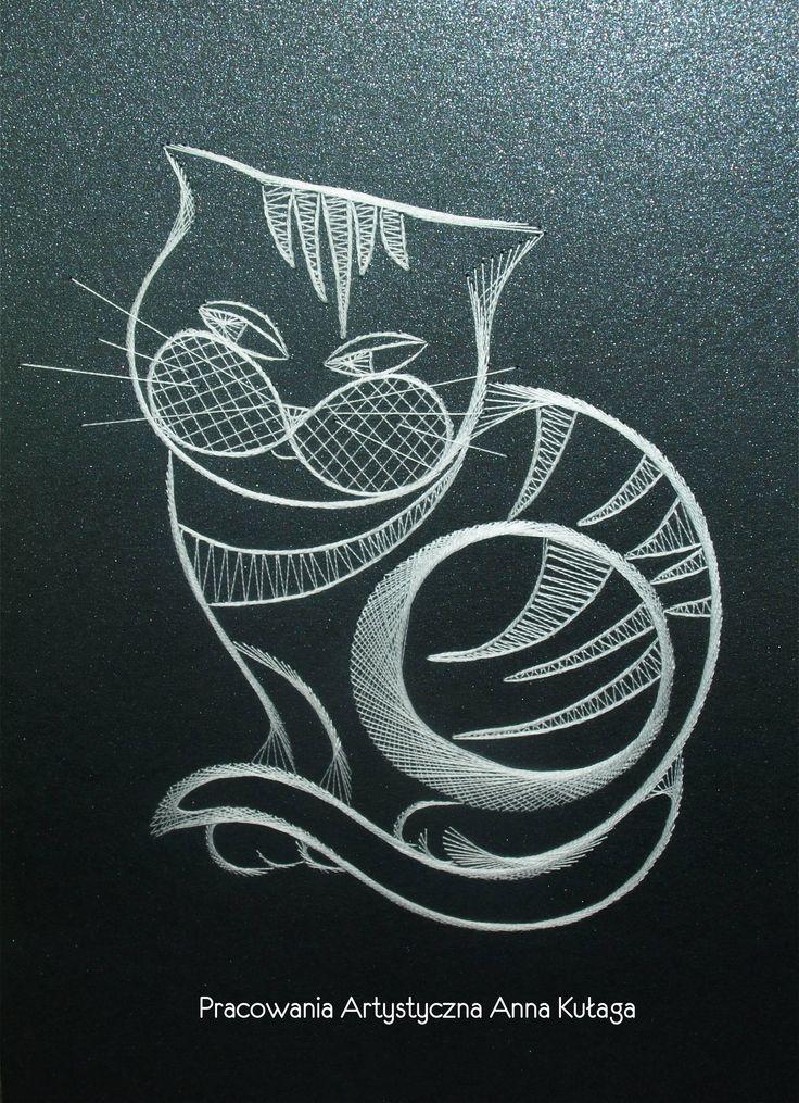 Design on base of the bobbin lace pattern by Martine Bruggeman.