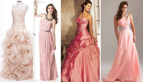 Приметы если свадебное платье розовое